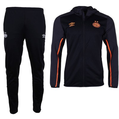 Foto van Umbro PSV Trainingspak Hooded Set Black