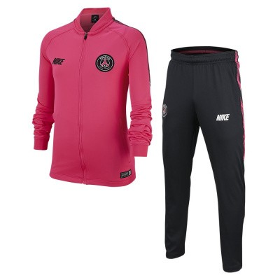 Foto van Paris Saint-Germain Dri-FIT Squad Trainingspak Kids Pink