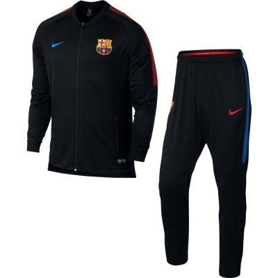 Foto van FC Barcelona Dri-FIT Squad Trainingspak Black
