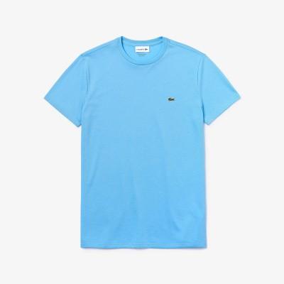 Foto van Lacoste T-shirt met Ronde Hals Lichtblauw
