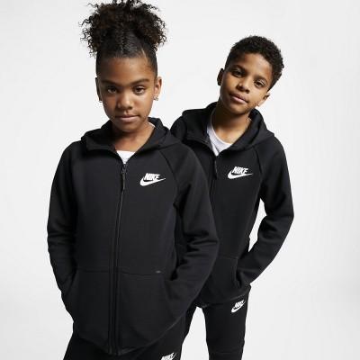 Foto van Nike Sportswear Tech Fleece Black Kids