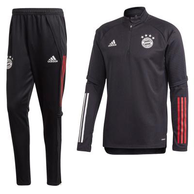 Foto van FC Bayern München Trainingsset Black
