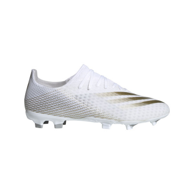 Foto van Adidas X Ghosted 3 FG White Gold