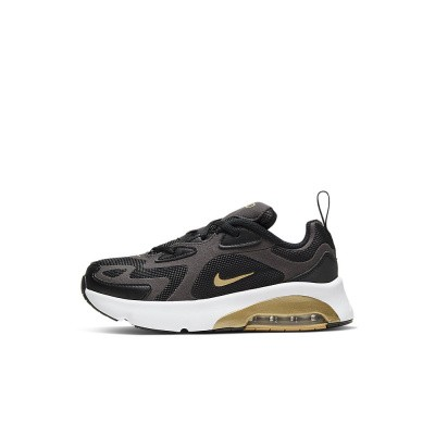 Foto van Nike Air Max 200 Kids Black Gold