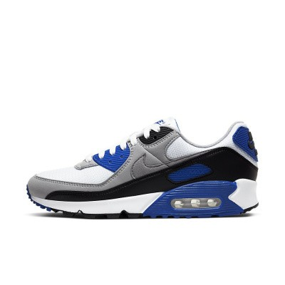 Foto van Nike Air Max 90 Particle Grey Hyper Blue