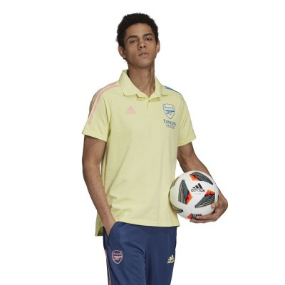 Foto van Arsenal FC Polo Set Yellow Tint