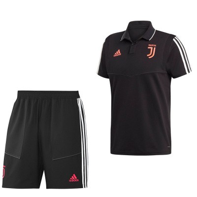 Foto van Juventus Polo Set Black