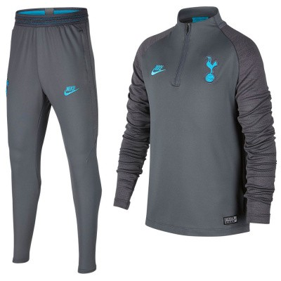 Foto van Tottenham Hotspur Dri-FIT Squad Drill Set Kids Flint Grey