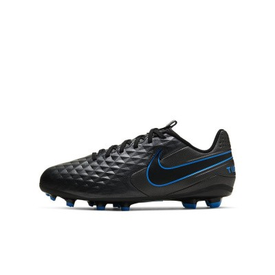 Foto van Nike Legend 8 Academy FG Black-Blue Hero Kids