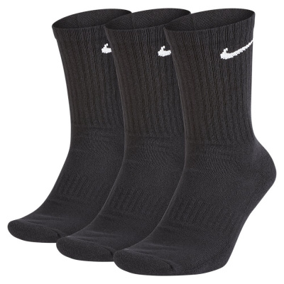 Foto van Nike Everyday Cushioned Black Sokken 3 paar
