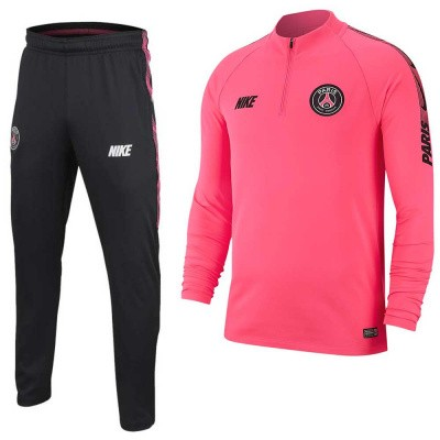 Foto van Paris Saint-Germain Dri-FIT Squad Drill Set Pink