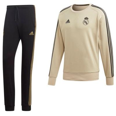 Foto van Real Madrid Sweatset Raw Gold