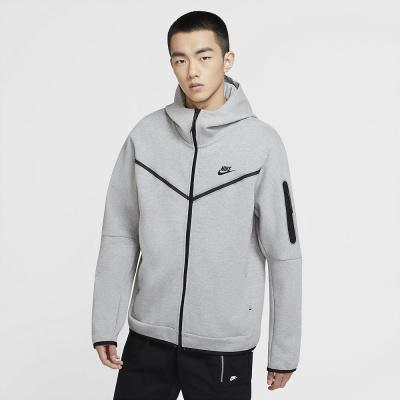 Foto van Nike Sportswear Tech Fleece Hoodie Dark Grey Heather