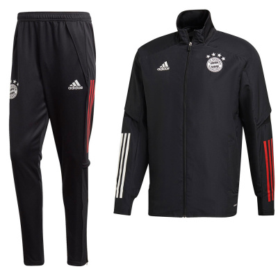 Foto van FC Bayern München Presentatiepak Black