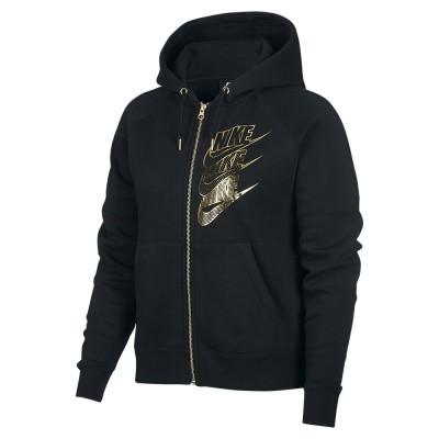 Foto van Nike Sportswear Women Hoodie FZ BB Shine