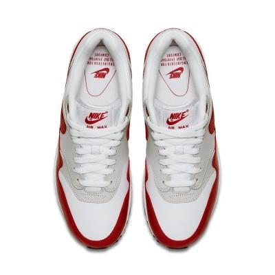 Foto van Nike Air Max 90/1 Wit-Rood