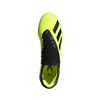 Foto van Adidas X 18.2 FG Geel-Zwart