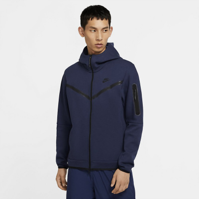 Foto van Nike Sportswear Tech Fleece Hoodie Midnight Navy