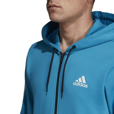 Foto van Adidas Must Haves 3-Stripes Trainingspak Blauw