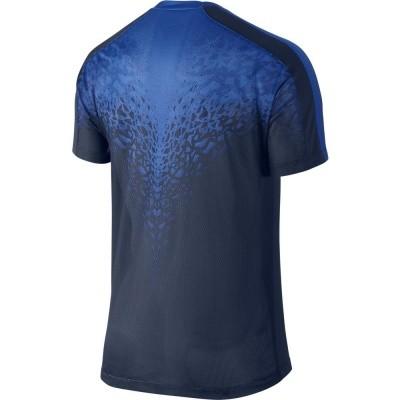 Foto van Nike SS GPX Top Blauw