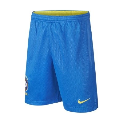 2018 Brasil CBF Stadium Home Short Kids