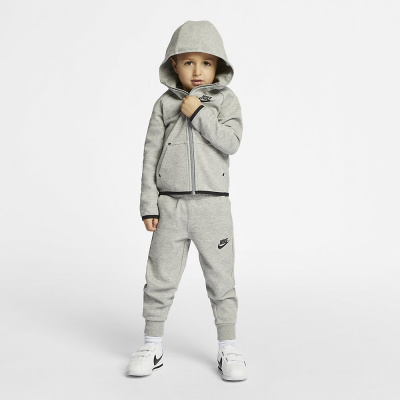 Foto van Nike Sportswear Tech Fleece Little Kids Dark Grey Heather