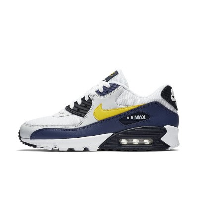 Foto van Nike Air Max 90 Essential White Tour Yellow Blue