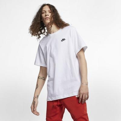 Foto van Nike Sportswear Club T-Shirt White