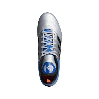 Foto van Adidas Copa 18.2 FG Zilver-Blauw