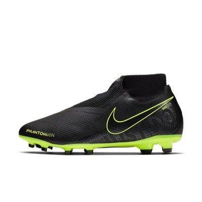 Foto van Nike PhantomVSN Pro Dynamic Fit Game FG Black-Volt