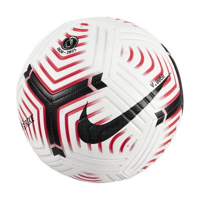 Foto van Nike Premier League Strike Voetbal White Laser Crimson