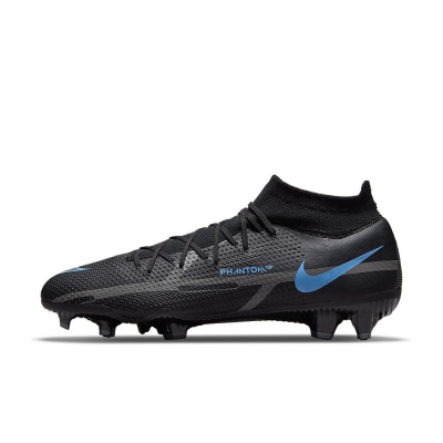 Foto van Nike Phantom GT2 Pro Dynamic Fit FG Black Iron Grey