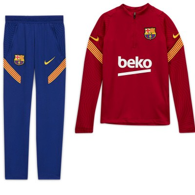 FC Barcelona Dri-FIT Strike Drill Set Kids