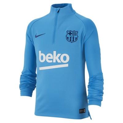 Foto van FC Barcelona Dri-FIT Squad Drill Set Kids Blue