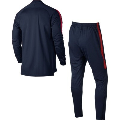 Foto van Paris Saint-Germain Dri-FIT Squad Trainingspak Blauw
