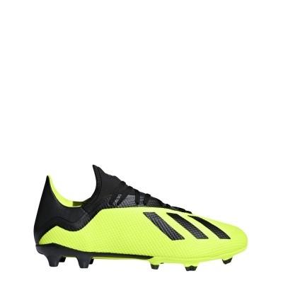 Foto van Adidas X 18.3 FG Geel-Zwart