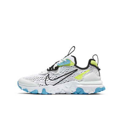 Foto van Nike React Vision Kids White Black Volt