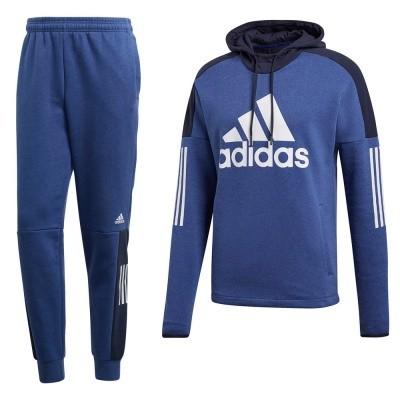 Adidas Sport ID Logo Hoodie Set