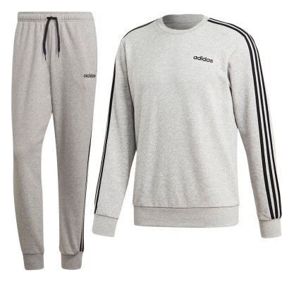 Adidas Essentials 3 Stripes Sweatset