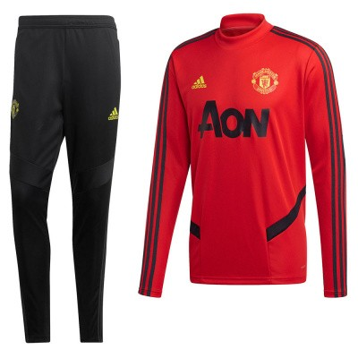 Foto van Manchester United Trainingsset Collegiate Red