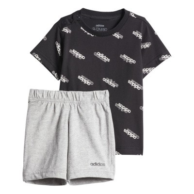 Foto van Adidas Favorites Short Sleeve Set Infants Black