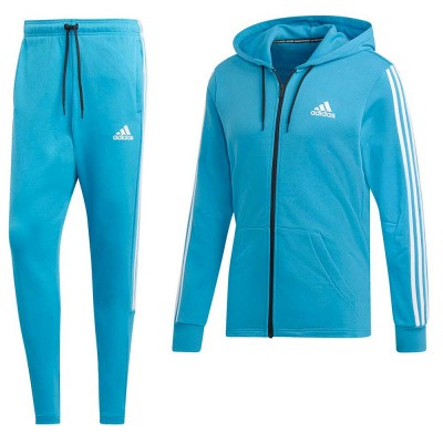 Foto van Adidas Must Haves 3-Stripes Trainingspak Blauw