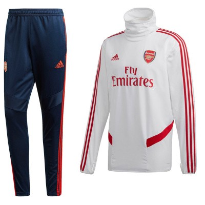 Foto van Arsenal FC Warm-up Set White