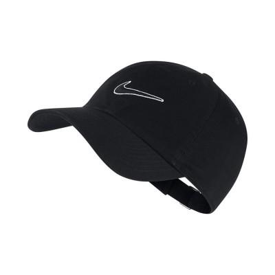 Foto van Nike Heritage 86 Essential Swoosh Cap Zwart