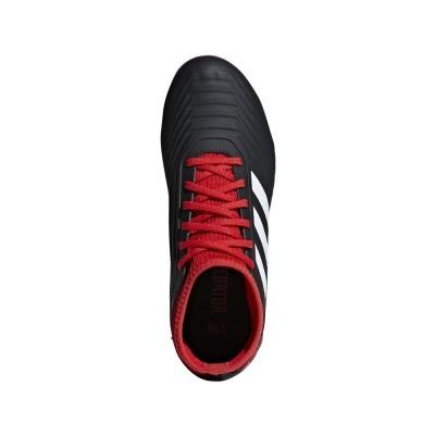 Foto van Adidas Predator 18.3 FG Kids Zwart-Rood