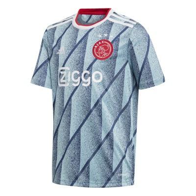 Foto van Ajax Shirt Kids Uit Icey Blue