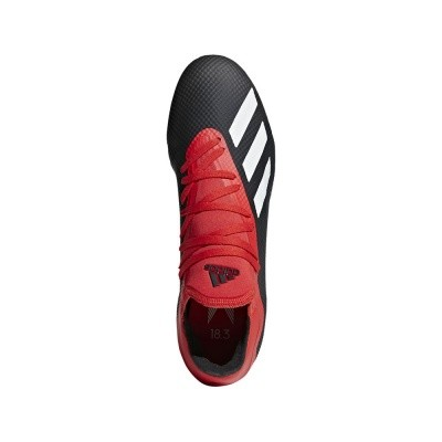 Foto van Adidas X 18.3 FG Black-Red
