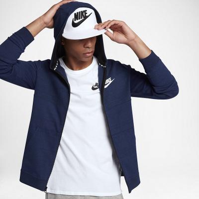 Foto van Nike Sportswear Advance 15 Hoodie Blue Heather