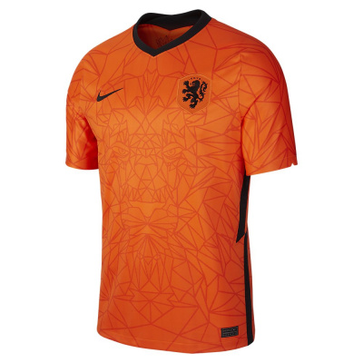Foto van Nederlands Elftal Thuisshirt Oranje
