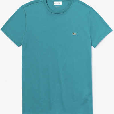 Foto van Lacoste T-shirt met Ronde Hals Blue